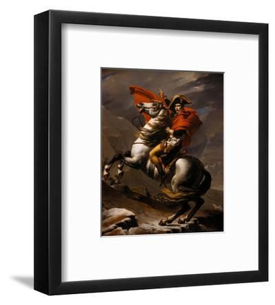 Napoleon on Horseback at the St. Bernard Pass