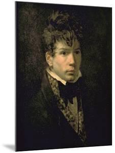Portrait du peintre Jean Dominique Ingres, jeune by Jacques-Louis David