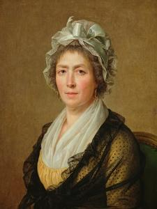 Portrait of a Woman, or the Governess of the The Artist's Children by Jacques-Louis David