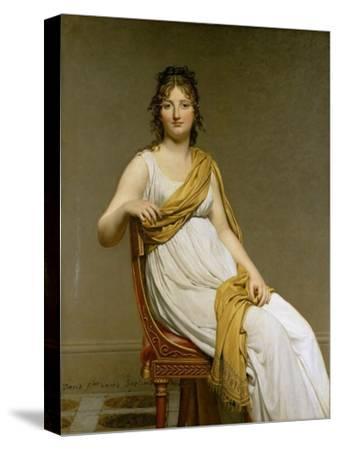 Portrait of Madame Raymond De Verninac, Née Henriette Delacroix