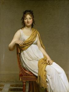 Portrait of Madame Raymond De Verninac, Née Henriette Delacroix by Jacques Louis David