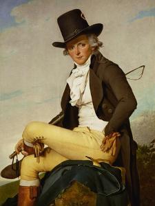 Portrait of Pierre Seriziat by Jacques-Louis David