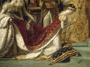 Sacre de l'empereur Napoléon et couronnement de l'impératrice Joséphine by Jacques-Louis David