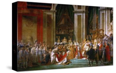 Sacre De Napoleon (Coronation) in Notre-Dame De Paris by Pope Pius VII, December 2, 1804