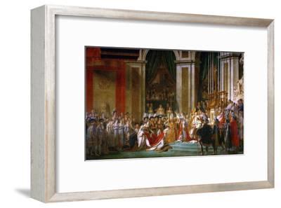 Sacre De Napoleon (Coronation) in Notre-Dame De Paris by Pope Pius VII, December 2, 1804