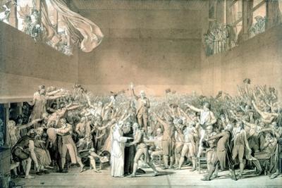 Tennis Court Oath, June 20 1789, Paris