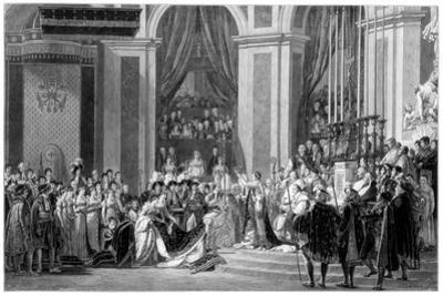 The Consecration of the Emperor Napoleon and the Coronation of the Empress Josephine, 1804
