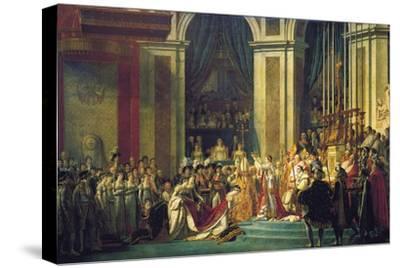 The Coronation of Napoleon at Notre-Dame De Paris on 2nd December 1804, 1807