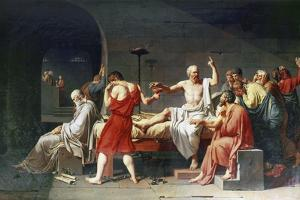 The Death of Socrates, 4th Century Bc by Jacques-Louis David