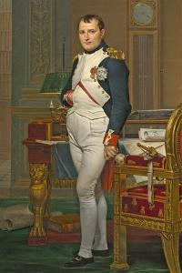 The Emperor Napoleon in His Study at the Tuileries, 1812 by Jacques-Louis David