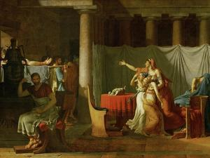 The Lictors Bring Brutus the Bodies of His Sons by Jacques-Louis David