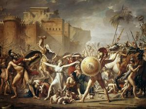 The Rape of the Sabine Women by Jacques Louis David