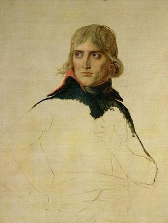 Unfinished Portrait of General Bonaparte (1769-1821) circa 1797-98