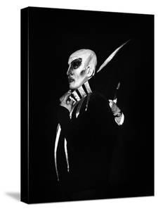"""Jacques Mars as Mephisto During the Rehearsal of Opera Ballet """"La Damnation De Faust"""""""