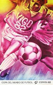 Copa del Mundo de Futbol 82 by Jacques Monory