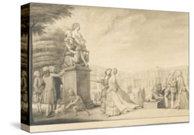 La terrasse du château de Chantilly