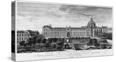 View of Hopital Royal de La Salpetriere, Known as Hopital General, Paris