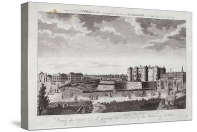View of the Bastille St Anthony's Gate and Part of the Suburbs of Paris