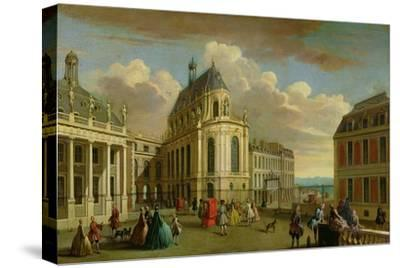 View of the Chapel of the Chateau De Versailles from the Courtyard