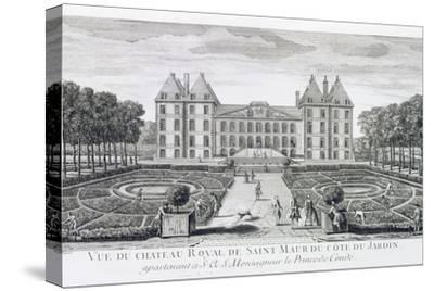 View of the Royal Chateau of Saint Maur from the Garden Side