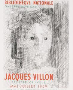 Bibliotheque Nationale by Jacques Villon