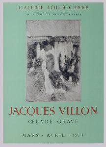 Expo Galerie Louis Carré by Jacques Villon