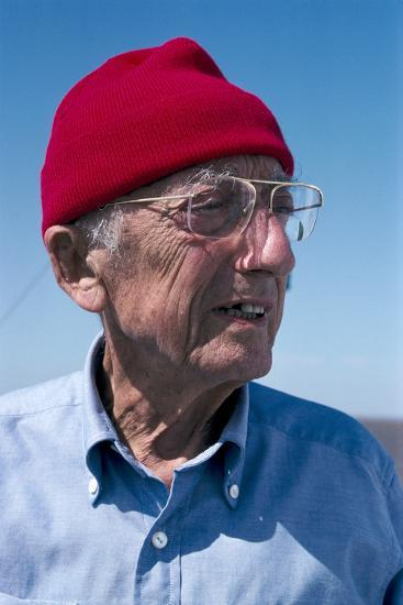 Jacques-Yves Cousteau, French Diver-Alexis Rosenfeld-Photographic Print