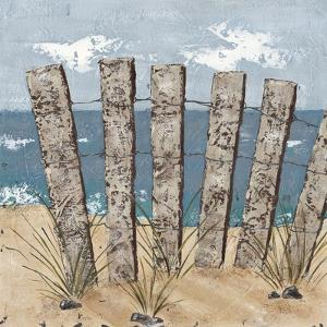 Beach Scene Triptych I by Jade Reynolds