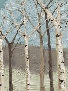 Blue Birches I by Jade Reynolds