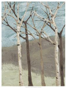Blue Birches II by Jade Reynolds