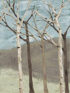 Blue Birches II by Jade Reynolds