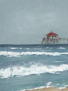 Fishing Pier Diptych I by Jade Reynolds