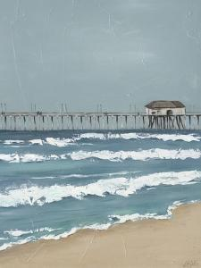 Fishing Pier Diptych II by Jade Reynolds