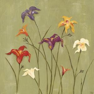 Jeweled Lilies II by Jade Reynolds
