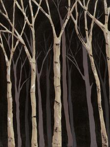 Midnight Birches I by Jade Reynolds