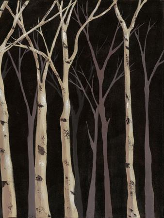 Midnight Birches II
