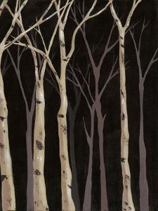 Midnight Birches II by Jade Reynolds