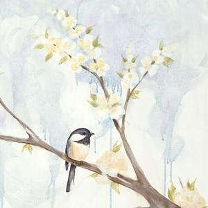 Spring Chickadees II by Jade Reynolds