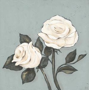 Two Tan Roses by Jade Reynolds