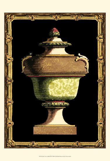Jade Urn on Black III--Art Print