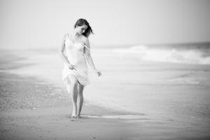 A Walk on the Beach by Jae