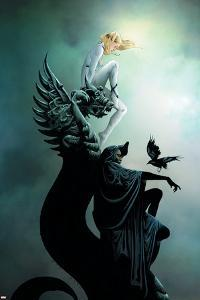 Dark X-Men: The Beginning No.2 Cover: Dagger and Cloak Stretching by Jae Lee