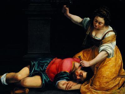 Jael and Sisera-Demetrio Cosola-Giclee Print