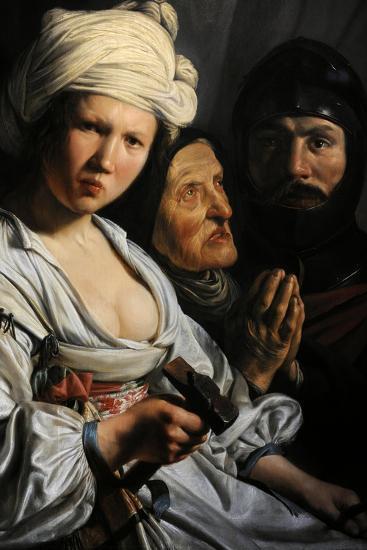 Jael, Deborah and Barak, 1635-Salomon de Bray-Giclee Print
