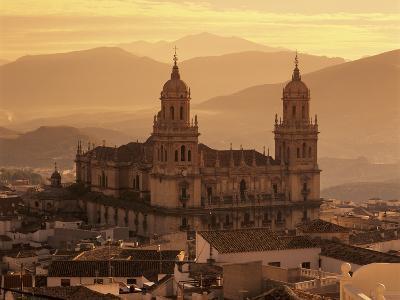 Jaen Cathedral at Sunset, Jaen, Andalucia, Spain-Stuart Black-Photographic Print