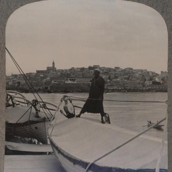 'Jaffa (the ancient Joppa) from the Sea', c1900-Unknown-Photographic Print