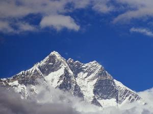 Jagged Tops of Everest Range by Jagdish Agarwal