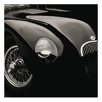 Jaguar C-Type-Retro Classics-Premium Giclee Print