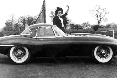 Jaguar Car March 14, 1961--Photo