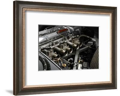 Jaguar D type 1956-Simon Clay-Framed Photographic Print